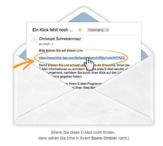 E-Mail Dankeseite